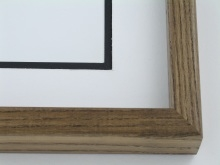 "Custom Picture Frame Sku: 259  1 1/2"" Spanish Walnut Ash"