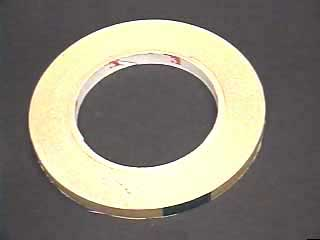 "Picture Framing supplies  Sku: 38TAPE  3/8"" (60 Yds) 2-sided Tape Hand Applied"