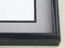 metal Custom Picture Frame Sku: 43-26  Brite Black