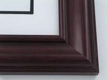 "Custom Picture Frame Sku: 480  2 1/2"" Mahogany"