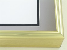 Custom Picture Frame Sku: 58-13  Shiny Gold