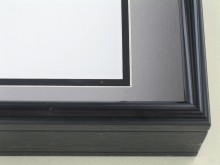 Custom Picture Frame Sku: 58-26  Brite Black