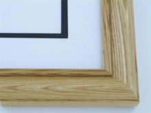 "Custom Picture Frame Sku: 618  1 1/2"" Honey Color"