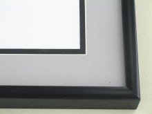 metal Custom Picture Frame Sku: 67-26  Brite Black