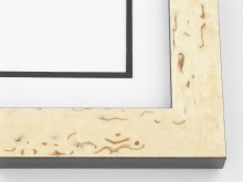 "Custom Picture Frame Sku: 711A  1-3/8"" Tuscany Birch Veneer"