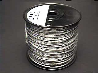 Picture Framing supplies  Sku: 8-WIRE  # 8 Picture Wire Braided (492ft)