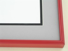 metal Custom Picture Frame Sku: 86-101  Cardinal Red