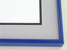 metal Custom Picture Frame Sku: 86-103  Midnight Blue