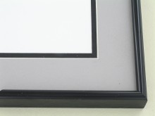 metal Custom Picture Frame Sku: 86-26  Brite Black