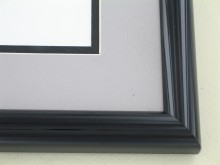 metal Custom Picture Frame Sku: 87-100  High Gloss Black