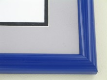 metal Custom Picture Frame Sku: 87-103  Midnight Blue