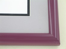 metal Custom Picture Frame Sku: 87-109  Wine