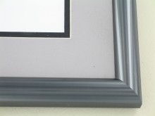 metal Custom Picture Frame Sku: 87-17  Grey Pewter