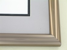 Custom Picture Frame Sku: 87-22  Dark Bronze