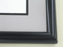 metal Custom Picture Frame Sku: 87-26  Brite Black