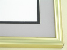 Custom Picture Frame Sku: 89-13  Shiny Gold