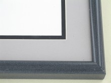 metal Custom Picture Frame Sku: 89-200  Black Marble