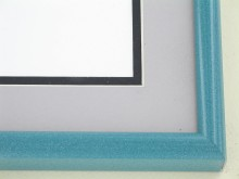 metal Custom Picture Frame Sku: 89-203  Ocean Onyx