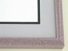Custom Picture Frame Sku: 89-209  Rose Granite