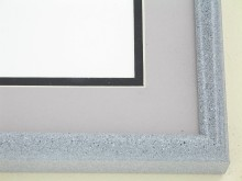 Custom Picture Frame Sku: 89-210  Grey Granite