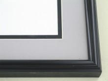metal Custom Picture Frame Sku: 89-26  Brite Black