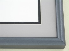 metal Custom Picture Frame Sku: 89-302  Etched Sterling