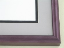 metal Custom Picture Frame Sku: 89-307  Dark Plum