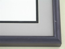 metal Custom Picture Frame Sku: 89-308  Eggplant