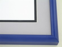 metal Custom Picture Frame Sku: 89-313  Cobalt Blue