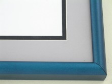 metal Custom Picture Frame Sku: 89-314  Mallard Teal