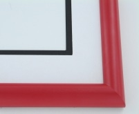 "Custom Picture Frame Sku: 895  1"" Wagon Red"