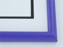 "Custom Picture Frame Sku: 899  1"" Grape Jelly"