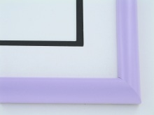 "Custom Picture Frame Sku: 900A  1"" Lavender Lullaby"