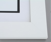 "Custom Picture Frame Sku: 905B  2"" Satin White"