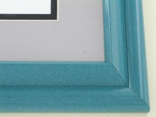 metal Custom Picture Frame Sku: 96-203  Ocean Onyx