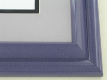 metal Custom Picture Frame Sku: 96-205  Regal Onyx