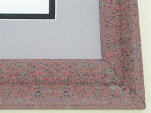 metal Custom Picture Frame Sku: 96-209  Rose Granite