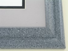 metal Custom Picture Frame Sku: 96-210  Grey Granite