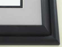 metal Custom Picture Frame Sku: 96-25  Satin Black