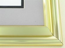 metal Custom Picture Frame Sku: 96-28  Light Gold