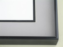metal Custom Picture Frame Sku: 99-26  Brite Black