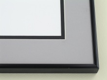 metal Custom Picture Frame Sku: A-1134  Shiny Black