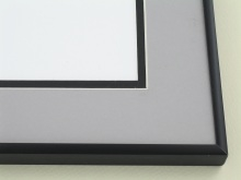 metal Custom Picture Frame Sku: A-1135  Frosted Black