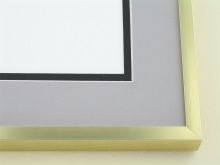Custom Picture Frame Sku: A-2032  Shiny Gold