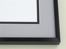 Custom Picture Frame Sku: A-2034  Shiny Black