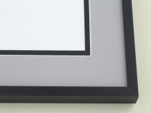 Custom Picture Frame Sku: A-2035  Frosted Black