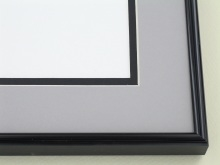 Custom Picture Frame Sku: A-5034  Shiny Black