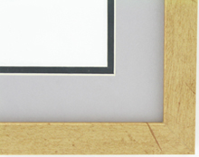 "Custom Picture Frame Sku: AAM0114  1"" Flat Victoria  Antique Gold"