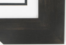 "wood Custom Picture Frame Sku: AAM7004  3"" Expresso Walnut"
