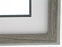 "wood Custom Picture Frame Sku: AAM7008  1 1/4"" Montauk Boardwalk"